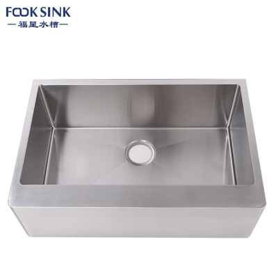 CUPC Certified Farmhouse Apron Front Kitchen Sink Stainless Steel 304